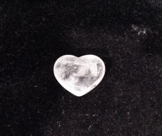 Clear Quartz Heart 3cm