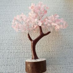 Rose Quartz Tree Large - 020