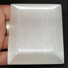 Selenite Charging Plate Bevel Edge - 7cm