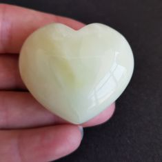 Chinese New Jade Heart 4cm