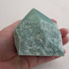 Polished Green Aventurine Point - Large