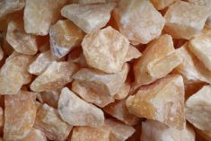 Rough - Calcite Orange 250gms
