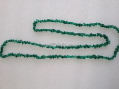 Green Onyx (Dyed)  Chip Necklace