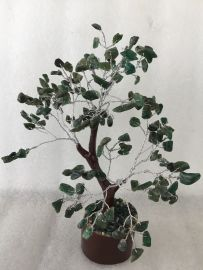 Green Aventurine Dark Tree - Medium 014