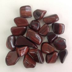 Tigers Eye Red Tumbled Stones
