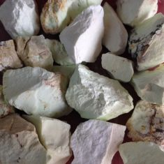 Rough Chrysoprase Quality A 1KG