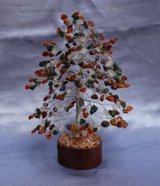 MIX CRYSTALS TREE LARGE 016