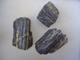 Rough - Black Tourmaline (Med-IN)