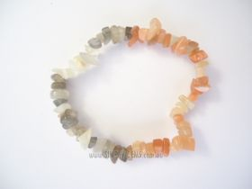 Moonstone Multi Chip Bracelet