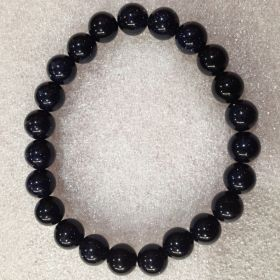Goldstone Blue Beads Bracelet