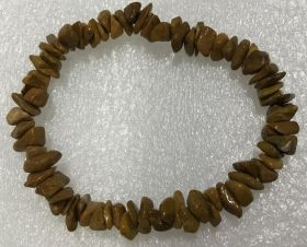 Jasper - Yellow Chip Bracelet