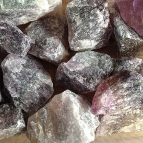 Rough Fluorite Quality A - 1KG