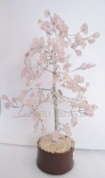 Rose Quartz Tree Medium 012